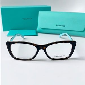 Tiffany Eyeglasses Rectangular TF2174 8015 Havana